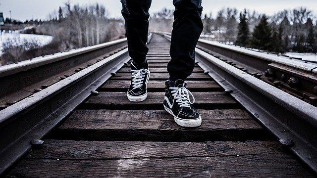 marche à pieds
